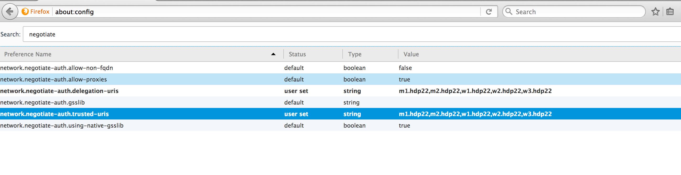 Configure SPNEGO Authentication for Hadoop – BigData
